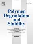 Effects of environmental aging on physical properties of aromatic thermosetting copolyester matrix neat and nanocomposite foam